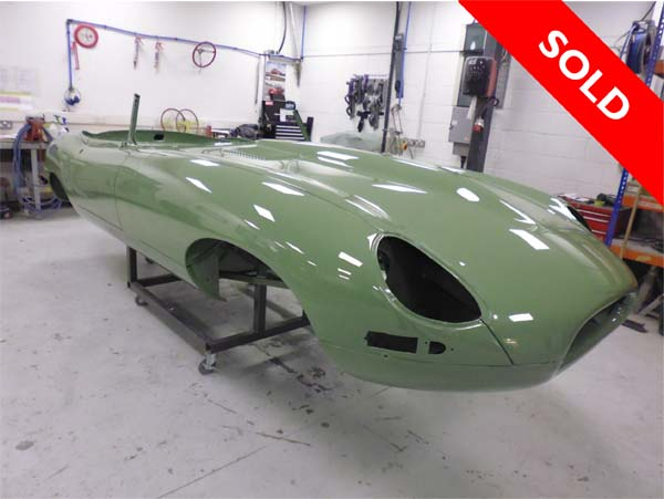 1966 Jaguar Series 1 E Type XKE 4.2 Litre Drop Head Coupe Roadster Left Hand Drive in Light Green 0097 SOLD