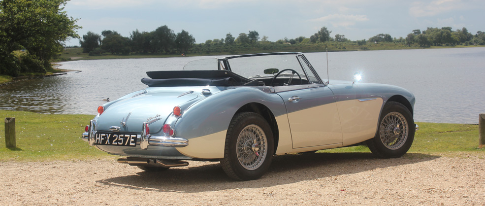 Austin Healey 3000 Mk III Convertible 1